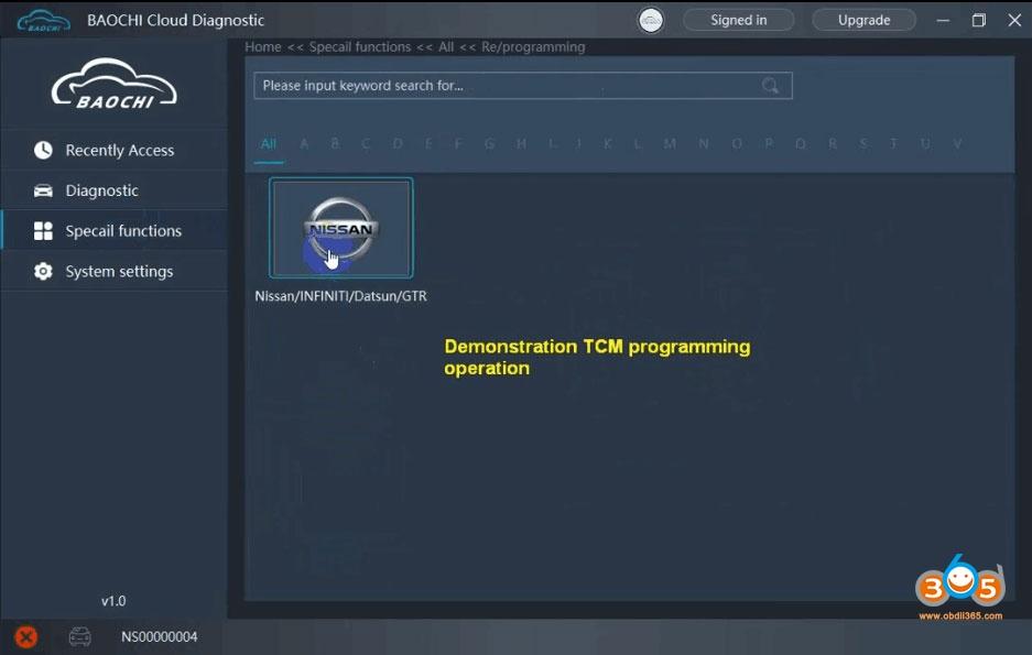 Svci Ing Nissan Tcm Programming 7