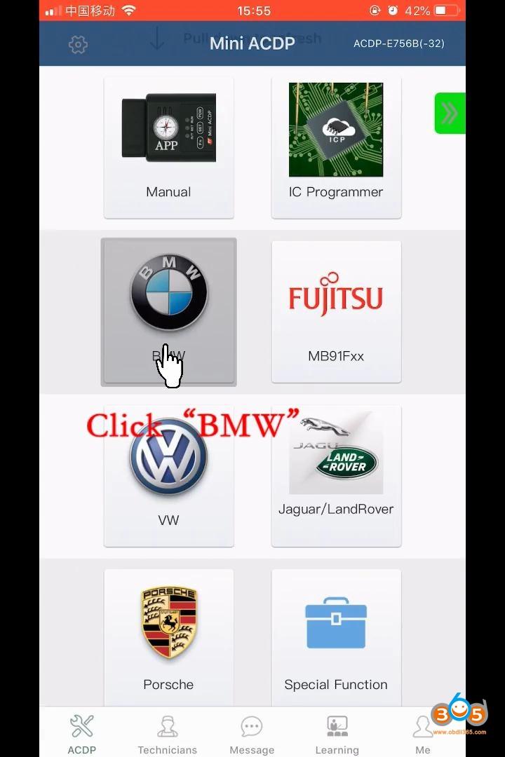Yanhua Mini Acdp Add 2014 F15 Key 13
