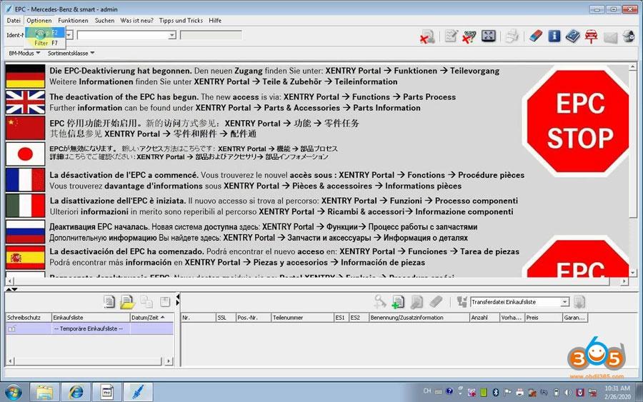 Activate Vxdiag Benz Xentry Epc Wis 09