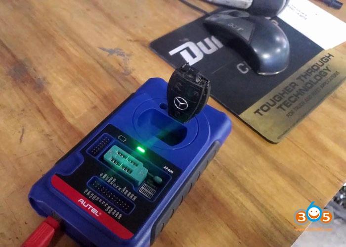 Autel Im608 Mercedes C230 All Keys Lost Key Programming 13