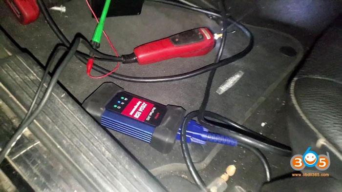 Autel Im608 Mercedes C230 All Keys Lost Key Programming 20