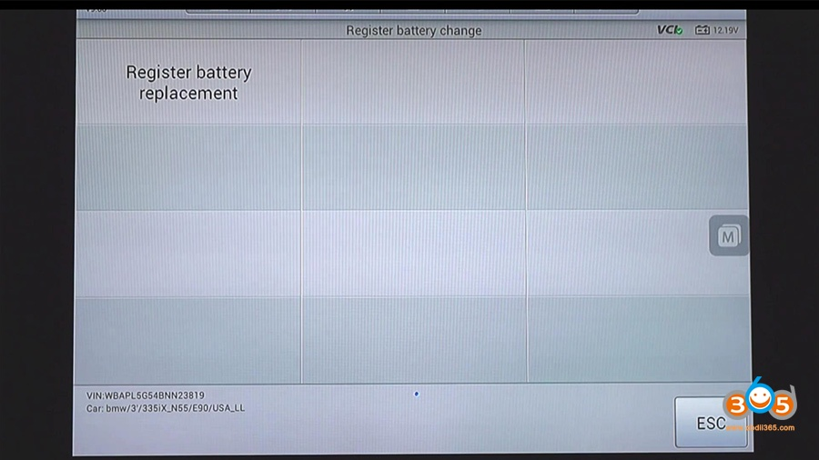 Autel Maxisys Bmw Battery Registration 13