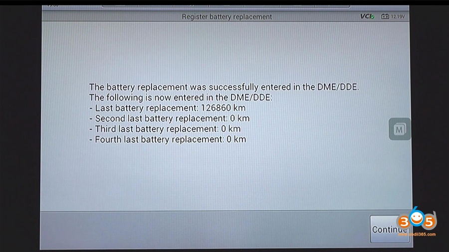 Autel Maxisys Bmw Battery Registration 18