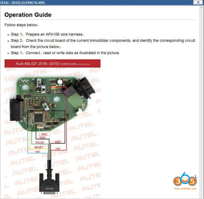 Autel Xp400 Wiring Diagram 2