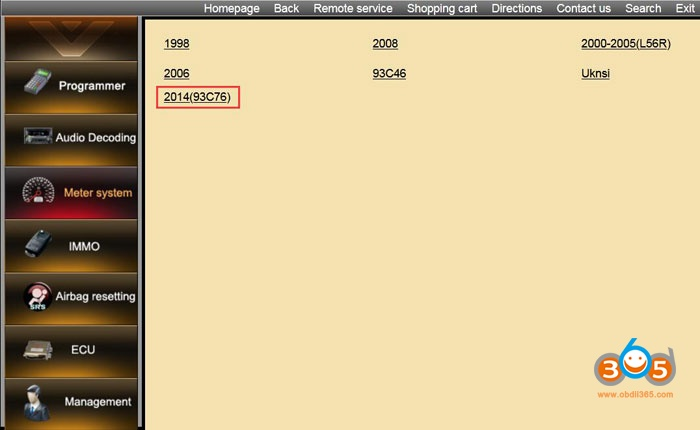Digimaster3 2014 Honda Accord Mileage Programming 04
