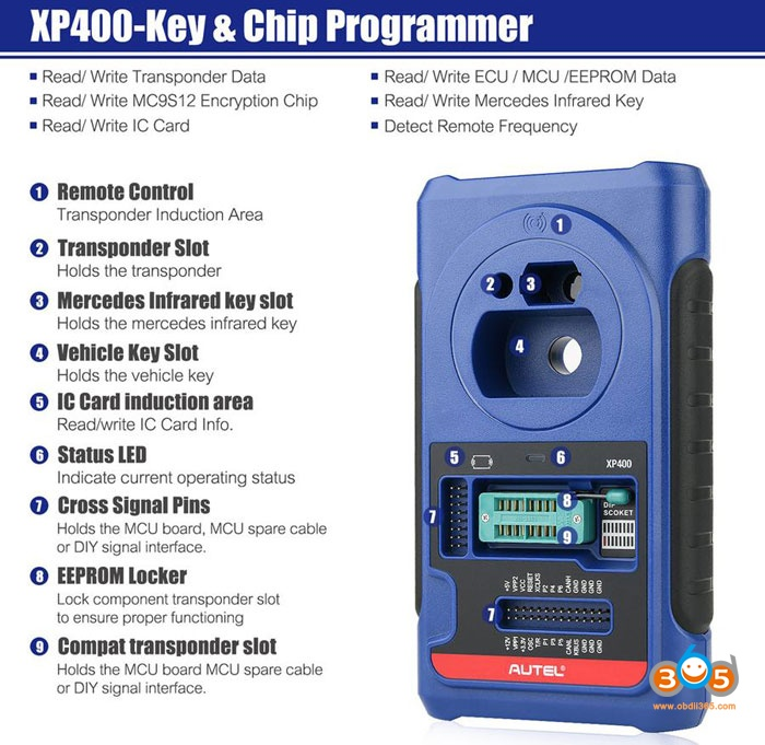 Xp400 All In One Key Programmer 2