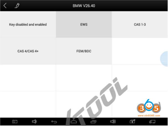 Xtool Program Bmw Ews Key 1