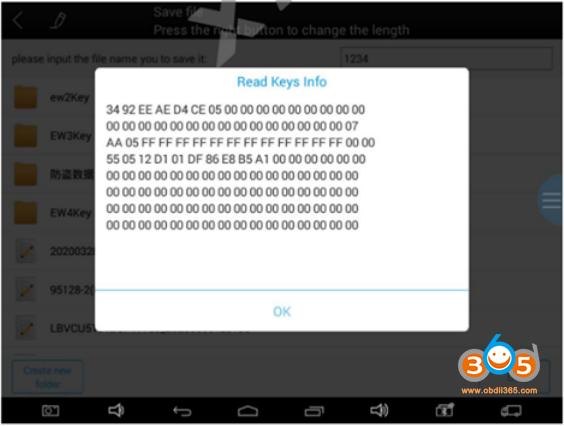 Xtool Program Bmw Ews Key 8