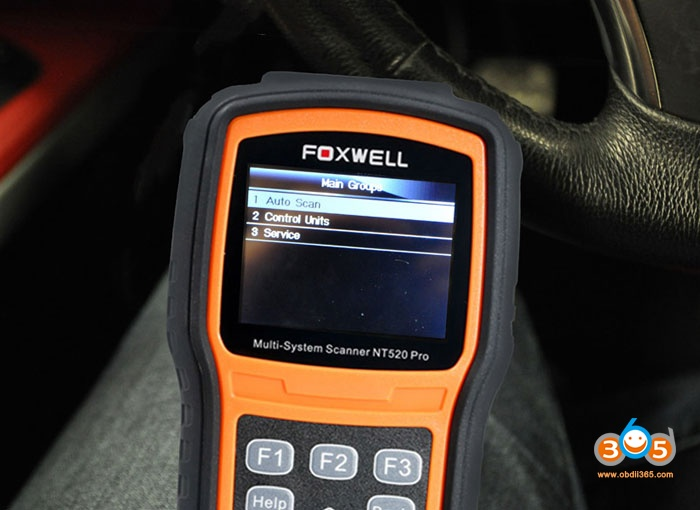 Bmw N54 Code Injector With Foxwell Nt520 02