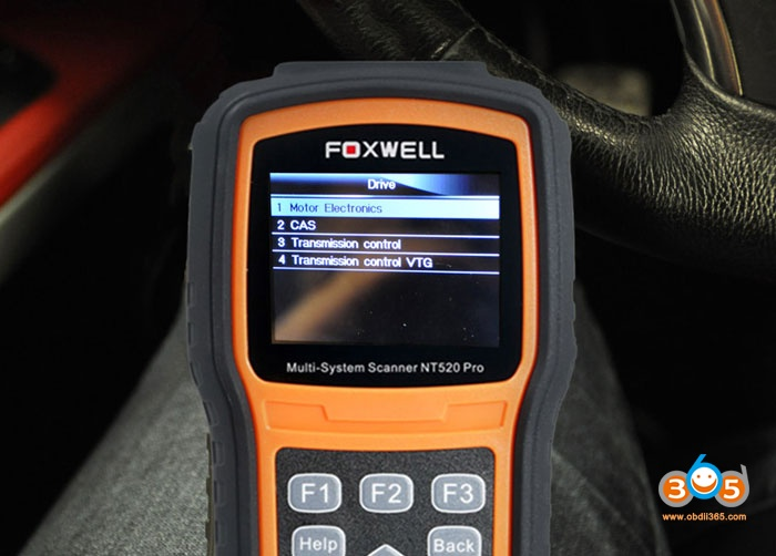 Bmw N54 Code Injector With Foxwell Nt520 03
