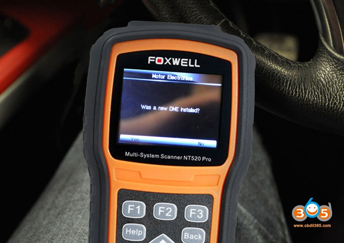 Bmw N54 Code Injector With Foxwell Nt520 04
