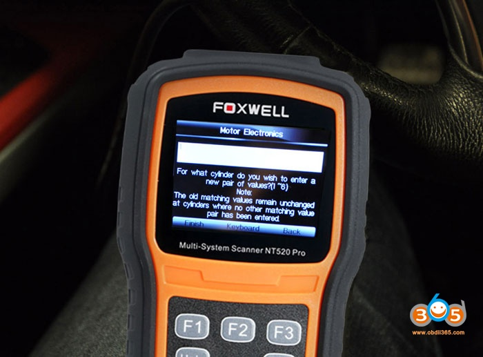 Bmw N54 Code Injector With Foxwell Nt520 05