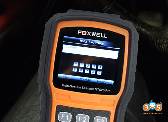 Bmw N54 Code Injector With Foxwell Nt520 06