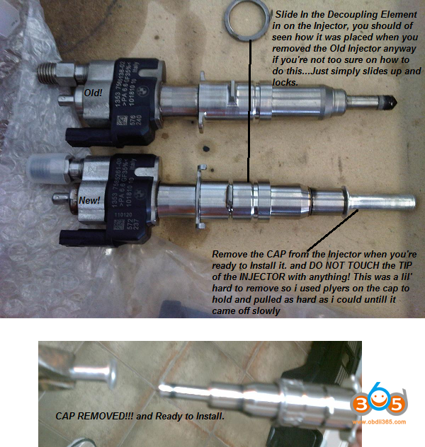 Code Bmw Fuel Injectors With Inpa 13