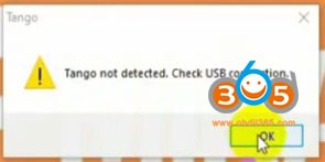 Install Tango Sofware Win10 8