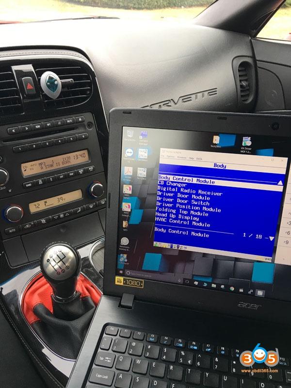 Obd2 Code Reader For C6 Corvette 05