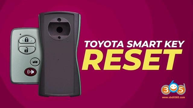 Toyota Smart Key Reset With Tango 01