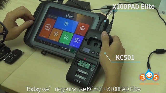Want To Read Car Key's Remote Frequency, Transponder ID And Chip Type Accurately And Easily Just Use KC501 & X100PAD Elite(1)