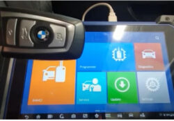 Autel Im608 Bmw Cas4 Cas4+ Key Programming Via Obd 01