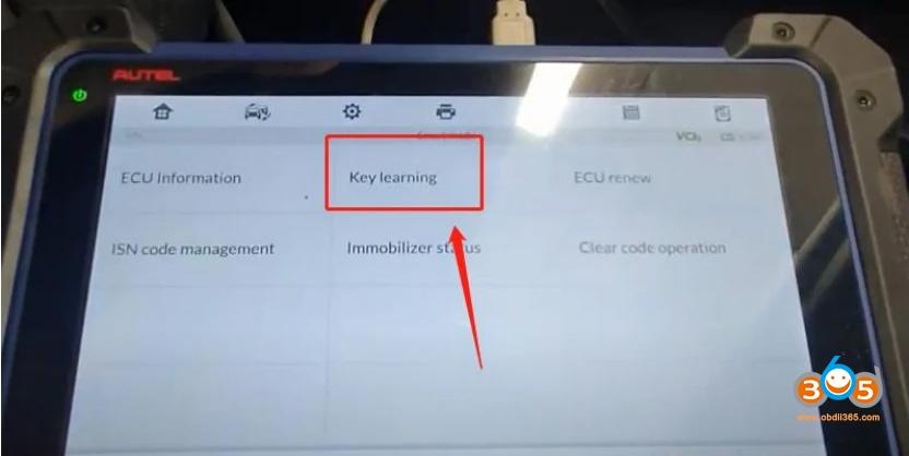 Autel Im608 Bmw Cas4 Cas4+ Key Programming Via Obd 05