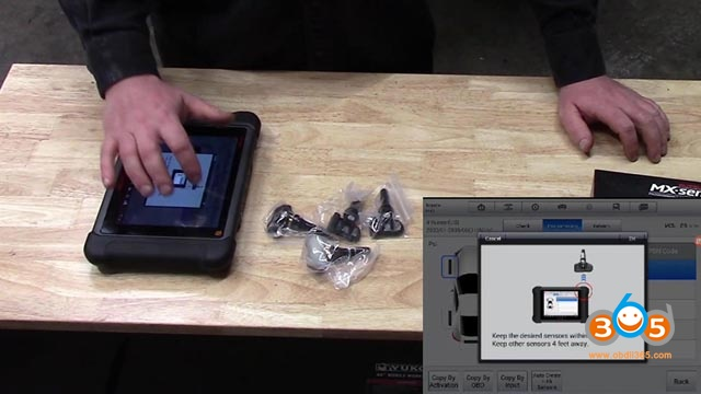 Autel Mx 1 Sensor Tpms Programming Toyota 4 Runner 10