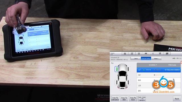 Autel Mx 1 Sensor Tpms Programming Toyota 4 Runner 15