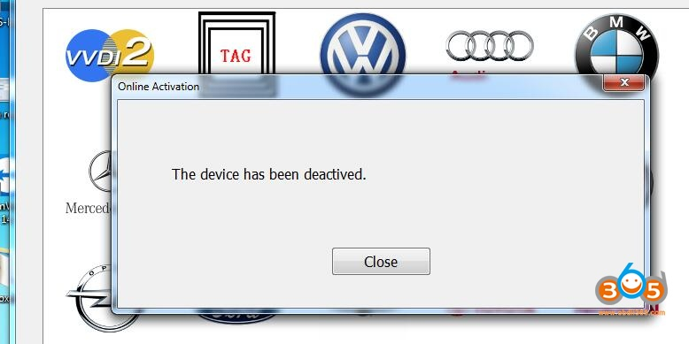 Fly Svci 2018 The Device Has Been Deactivated
