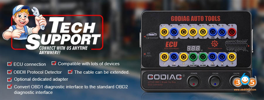 Godiag Gt100 Obdii Ecu Breakout Box Guide 02