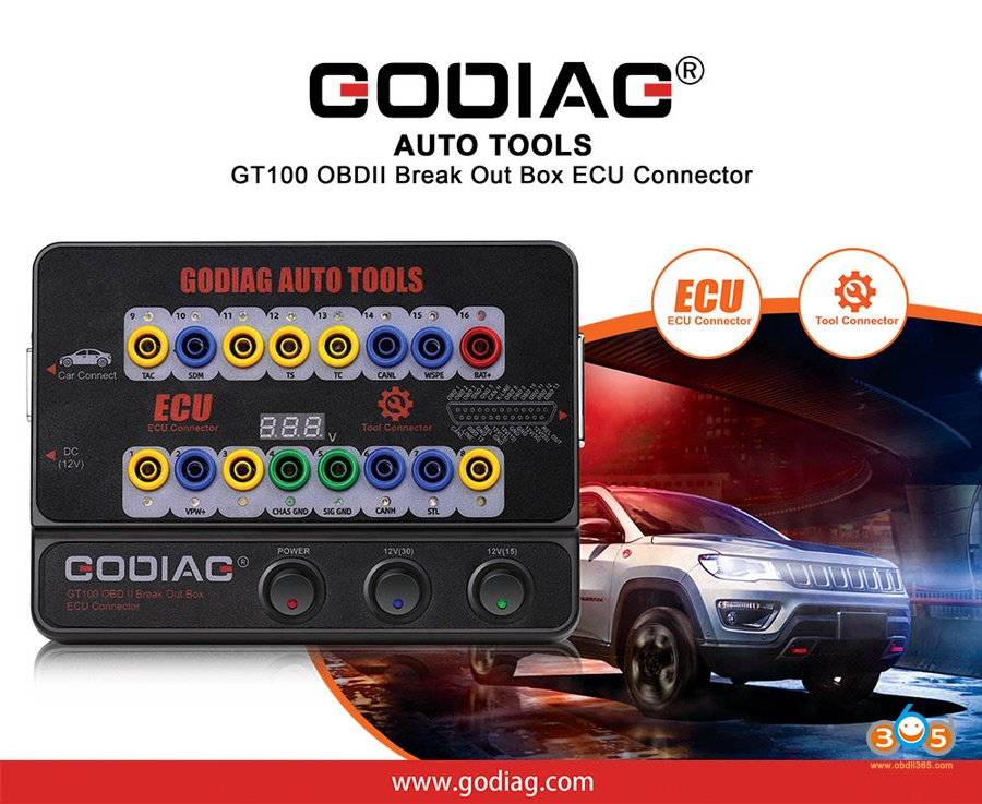 Godiag Gt100 Obdii Ecu Breakout Box Guide 05