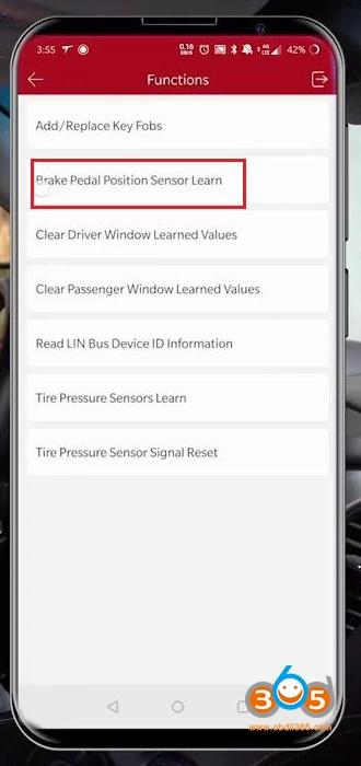 Launch Thinkdiag Chevrolet Suburban 2015 Brake Pad Reset 13