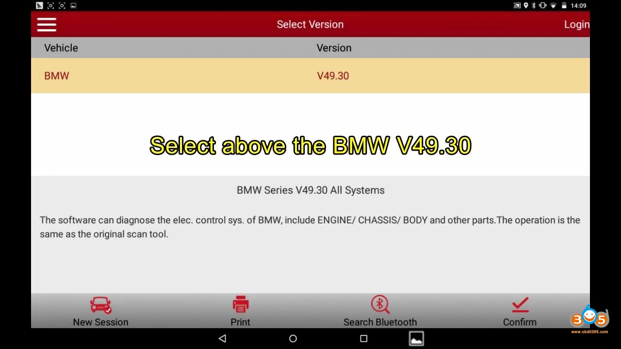 Launch X431 2011 Bmw F Chassis Abs Bleeding 01