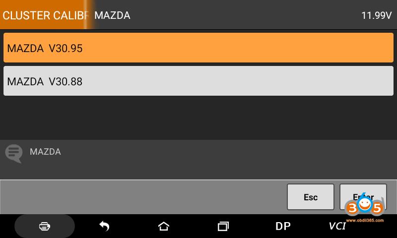 Obdstar Odomaster Mazda 6 2017 Mileage Programming 01