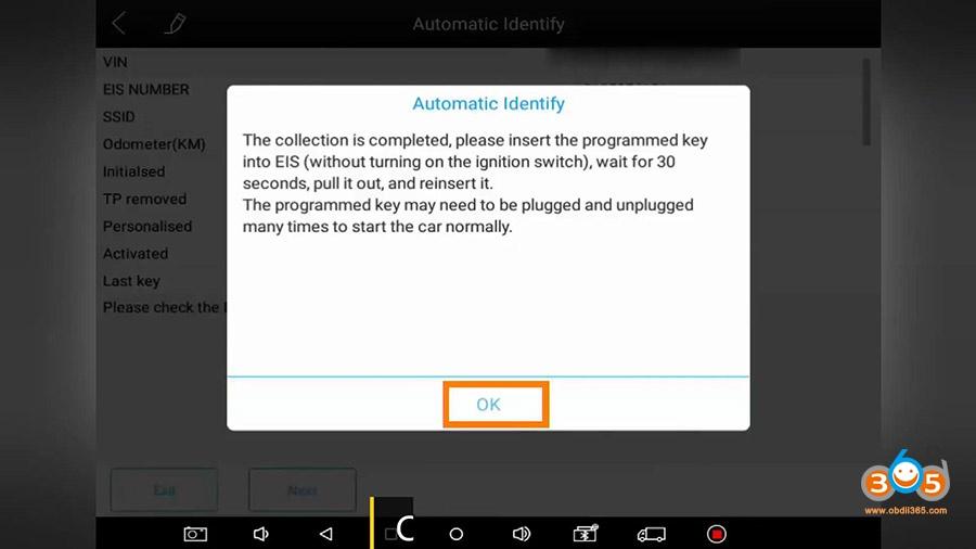 Xtool Kc501 Pad3 Obd Add Mercedes Infrared Key 19