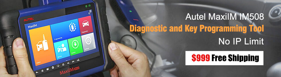 980 280 Autel MaxiIM IM508 Diagnostic And Key Programming Tool