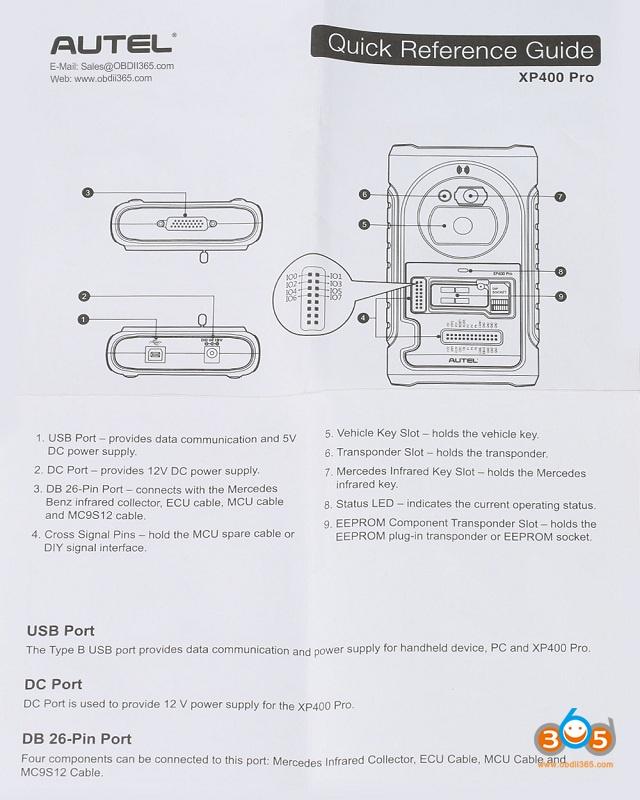Autel Xp400 Pro Manual 01