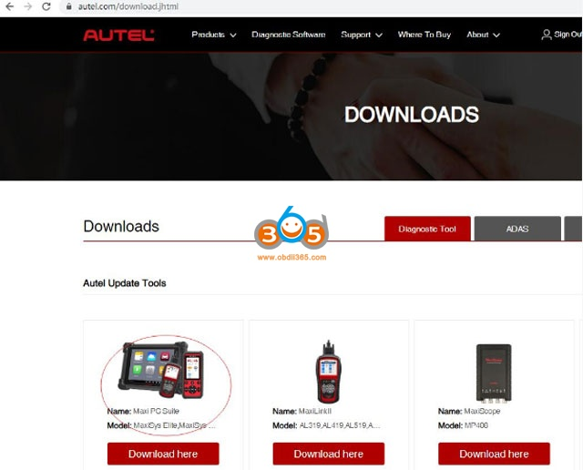Use Autel J2534 Ecu Programmer With Oe Software 02