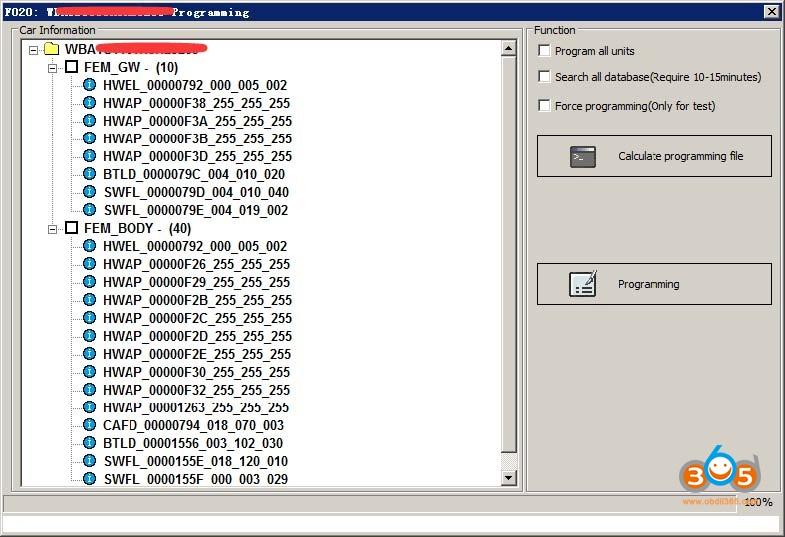 Vvdi Bim Tool Bmw Exx F G Programming Coding 12