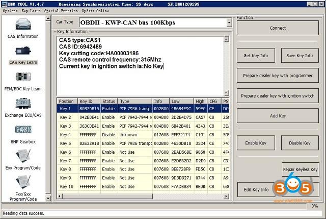 Vvdi Bimtool Pro Cas Key Learn 01