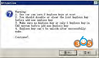 Vvdi Bimtool Pro Cas Key Learn 09
