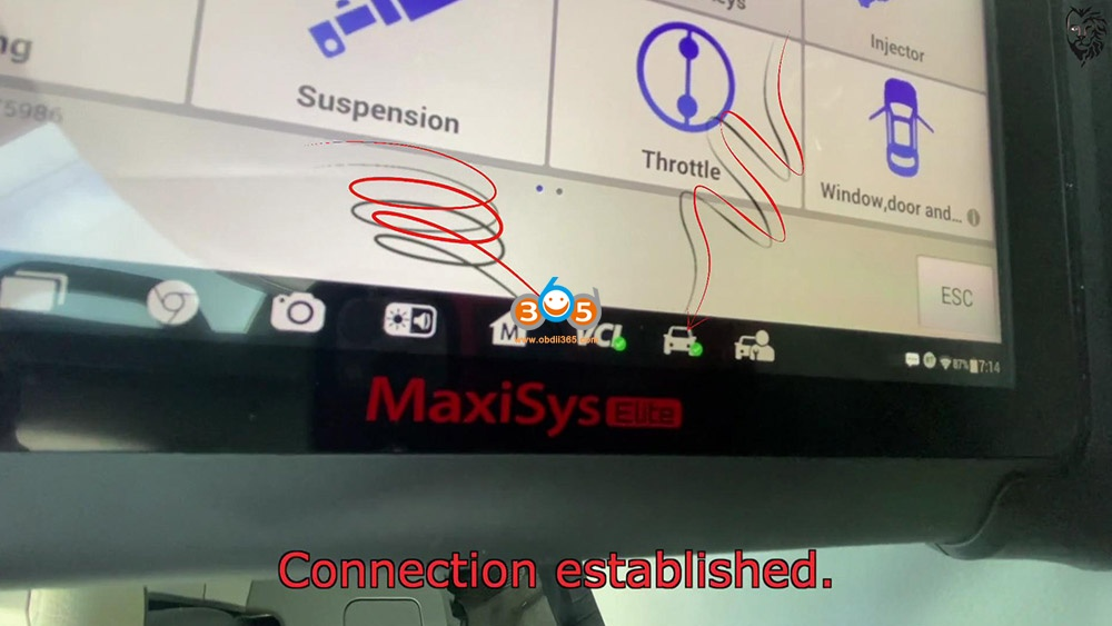 Autel Maxisys Elite Program Toyota Sienna 2013 Smart Keyfob 06