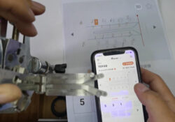 Lishi Condor Dolphin Read Toy48 Key Bitting Code 05