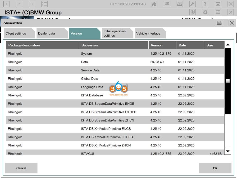 Newly Released V2020.11 Bmw Icom Software 02