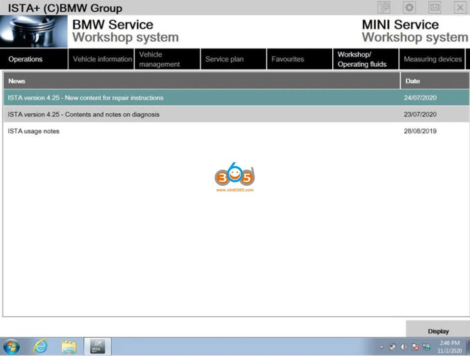 Newly Released V2020.11 Bmw Icom Software 04