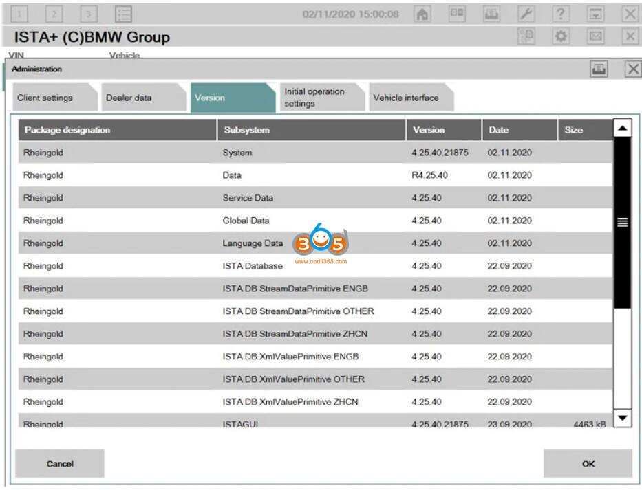 Newly Released V2020.11 Bmw Icom Software 05