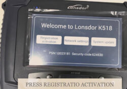 Update Activate Lonsdor K518ise 01