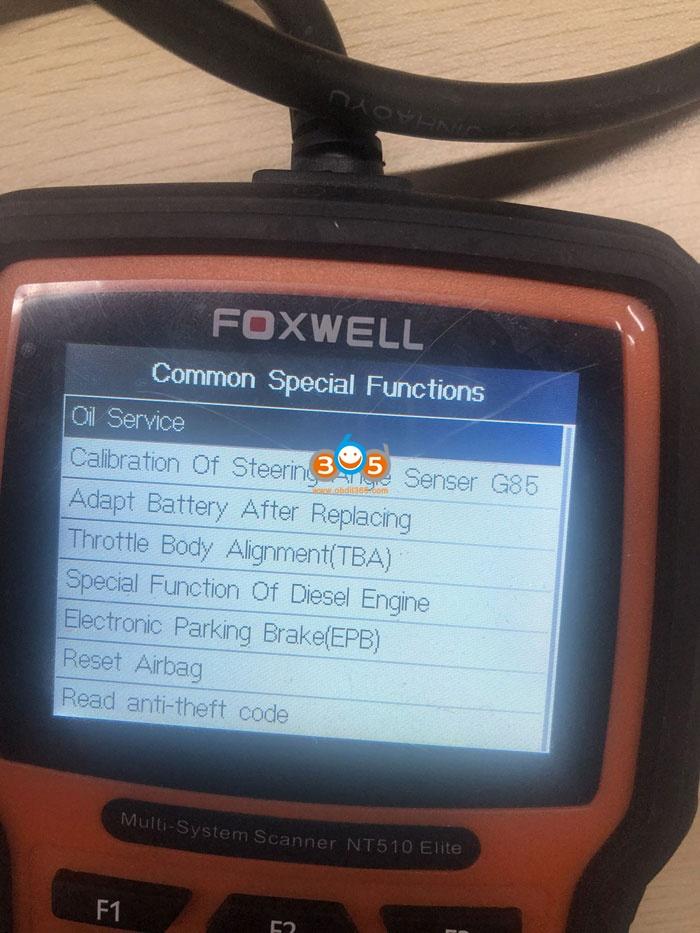 2019 Passat Oil Service Reset Tool Diagnostic Tool 07