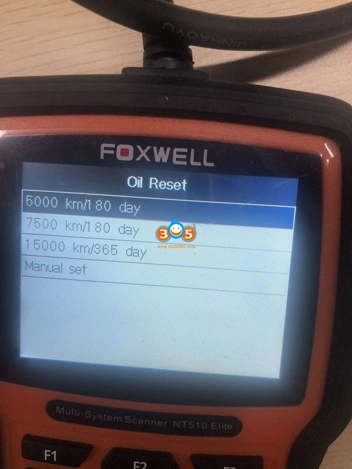 2019 Passat Oil Service Reset Tool Diagnostic Tool 09