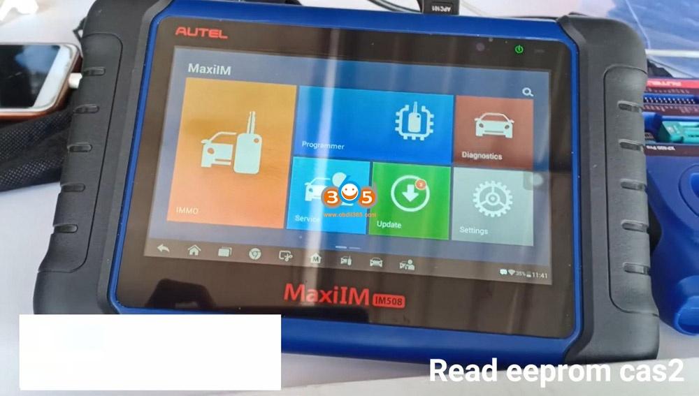 Autel Im508 Xp400 Pro Read Eeprom Cas2 Bmw 01