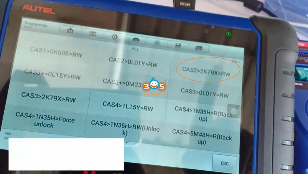 Autel Im508 Xp400 Pro Read Eeprom Cas2 Bmw 08