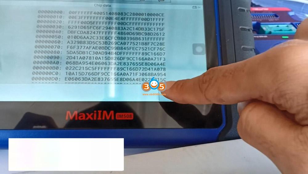 Autel Im508 Xp400 Pro Read Eeprom Cas2 Bmw 12